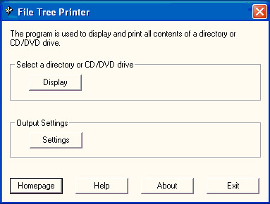 File Tree Printer 3.0.7.4 screenshot