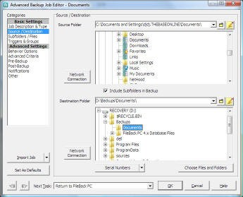 FileBack PC 4.1 screenshot