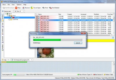 FileRescue Professional 4.16 screenshot