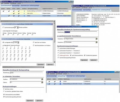 Filesynchro 1.1 screenshot