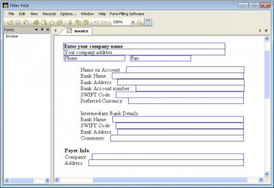 Filler Pilot 2.43 screenshot