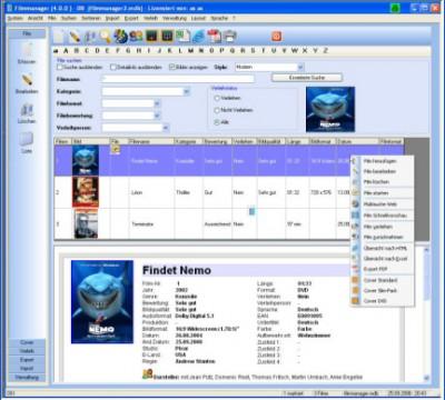Filmmanager 4.6.1 screenshot