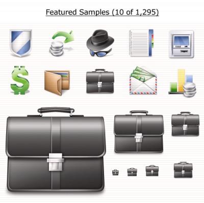 Finance Icons Vista 1.0 screenshot