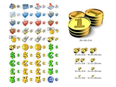 Financial Icon Library 4.6 screenshot