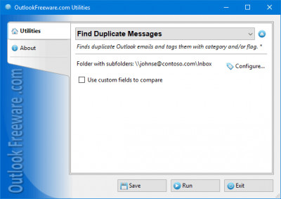 Find Duplicate Messages for Outlook 4.13 screenshot