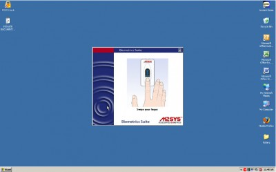 Fingerprint Software - Secure PC Login 4.1.0 screenshot