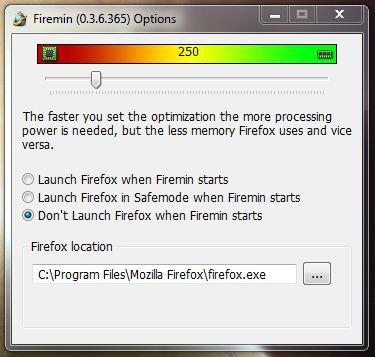 Firemin 0.3.6.369 screenshot