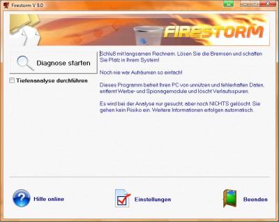 Firestorm 9.0.0.4901 screenshot