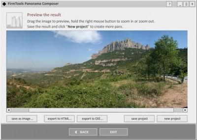 FirmTools Panorama Composer 3.0 screenshot