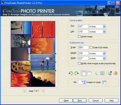 FirmTools PhotoPrinter Pro 2.0 screenshot