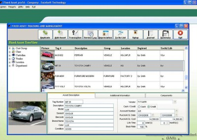 Fixed Asset Pro16 3.0 screenshot