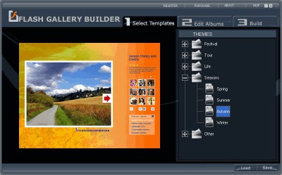 Flash Gallery Builder 1.5 screenshot