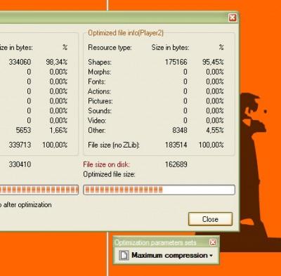 Flash Optimizer (Lite Edition) 1.16 screenshot