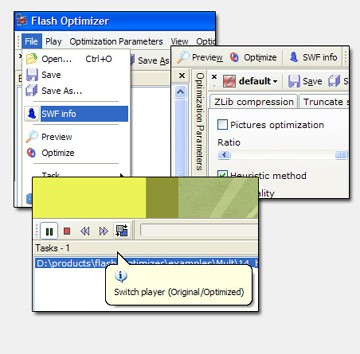 Flash Optimizer 1.41 screenshot