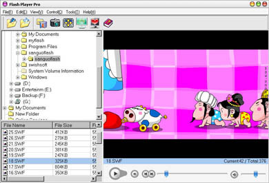 Flash Player Pro 6.01 screenshot