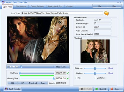 Flash Video MX 4.6 screenshot
