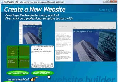 Flash4D Professional Edition 5.1 screenshot