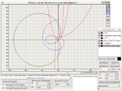 FlatGraph 1.10b2 screenshot