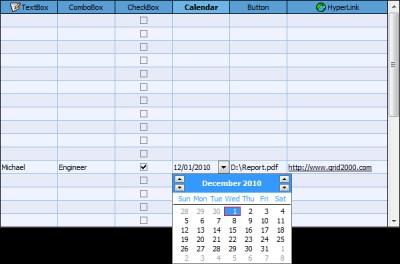 FlexCell Grid Control for ActiveX 6.3.3 screenshot