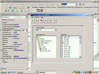 FlexCompress 6.30 screenshot