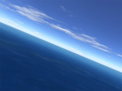 Flight over sea 2.8 screenshot