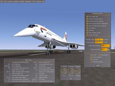 FlightGear 0.9.10 screenshot