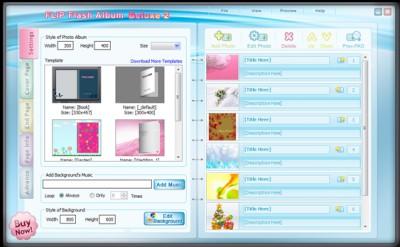FLIP Flash Album Deluxe 1.7.1211.1 screenshot