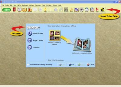 FlipAlbum Suite 5.5 screenshot