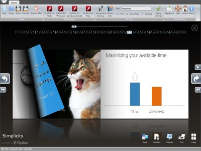 Flipdoo Publisher | Page Flip Converting 1.4 screenshot
