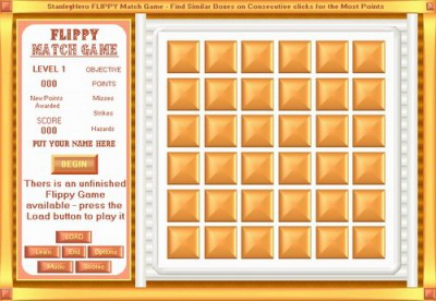 Flippy Match Game 5.65 screenshot