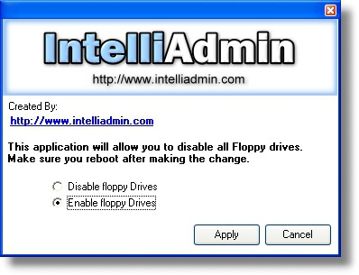 Floppy Drive Disabler 2.0 screenshot