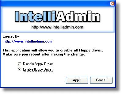 Floppy Drive Disabler 2.0 screenshot