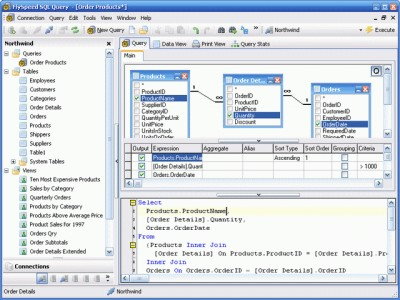 FlySpeed SQL Query 3.2.5.1 screenshot