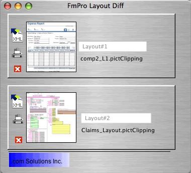 FmPro Layout Diff 1.0 screenshot