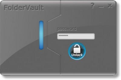 Folder Vault 3.0.0.0 screenshot