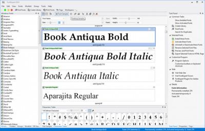 FontExpert 2015 13.0 screenshot