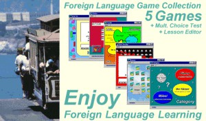 Foreign Language Game Collection 2.0 screenshot