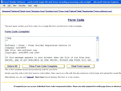 Form1 Builder 20 screenshot