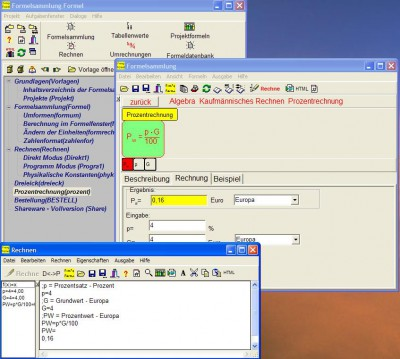 Formelsammlung Formel 8.0 screenshot