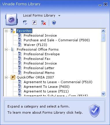 Forms Reader 2007 screenshot