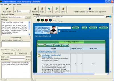 Forum Fortunes 3.0 screenshot