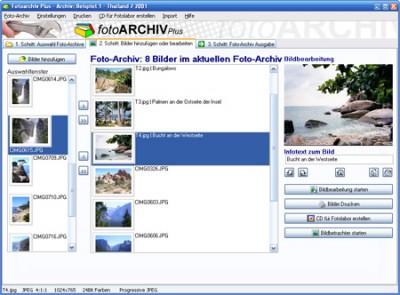 Fotoarchiv Plus 6.0.6 screenshot