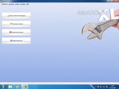 Fotoarchiv XL 10.0.8 screenshot