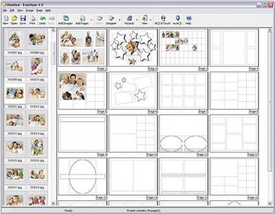 FotoSlate Photo Print Manager 4.0 screenshot