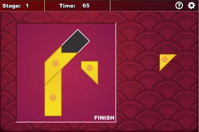 Four Piece Tangram 1.7.0 screenshot