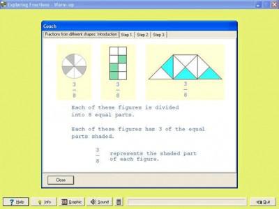 Fraction Shape-Up 1.00 screenshot