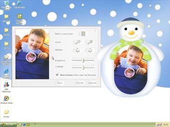 Framy Green Snowman 1.1 screenshot
