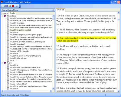 Free Bible InterFaith Explorer 2.1 screenshot