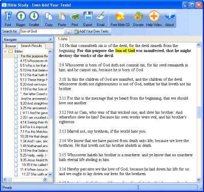 Free Bible Study - Add Any Texts 1.2.6 screenshot