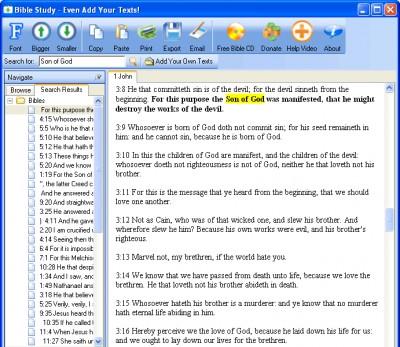 Free Bible Study - Add Any Texts 14.8 screenshot